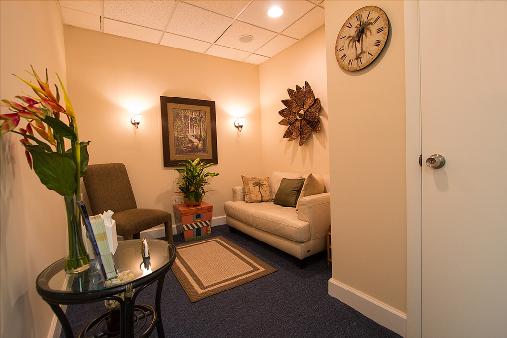 Siegel Counseling waiting room